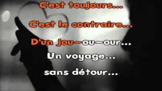 Entre Nous-Chimène Badi Karaoké chanté