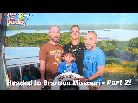 HEADED TO BRANSON MISSOURI - PART 2! / VLOG