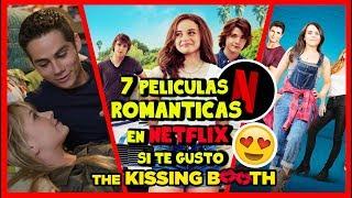 7 Películas que debes ver en Netflix si te gustó The Kissing Booth