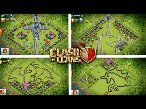 BEST LAYOUT EVER SEEN IN COC | Clash Of Clans - 2019