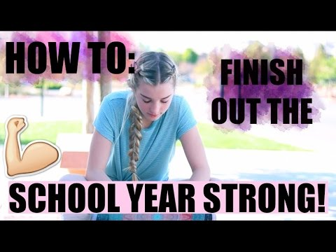 HOW TO SURVIVE THE END OF THE SCHOOL YEAR!   Avrey Ovard