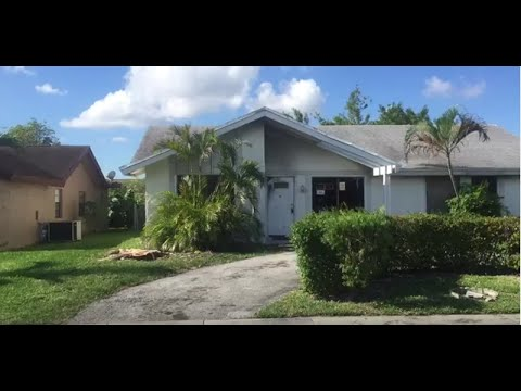 1319 SW 82 Ave North Lauderdale, FL 33068 House for Sale