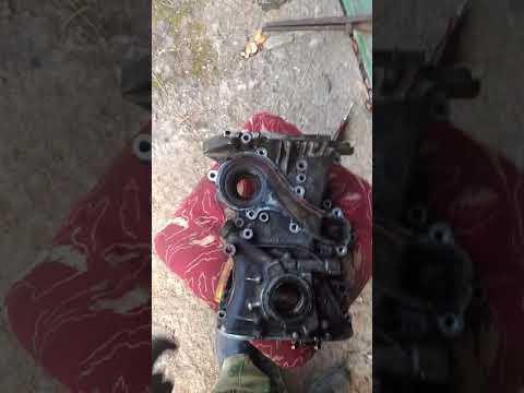 Секрет снятия передней крышки двигателя Nissan Almera N16