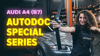 How to change Window wipers A4 (8EC, B7) - step-by-step video manual