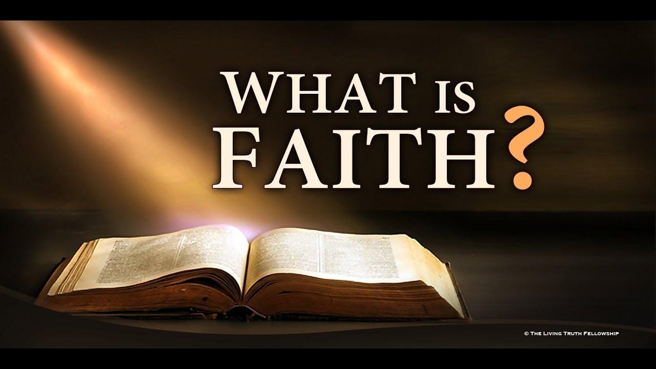 WHAT IS FAITH? (Segment 6) - YouTube