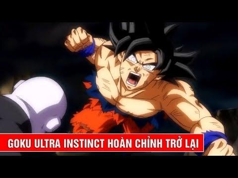 Goku Ultra Instinct hoàn chỉnh mạnh mẽ nhất sẽ trở lại trong giải đấu vũ trụ Dragon Ball Super thumbnail