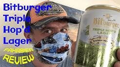 Bitburger Triple Hop'd Lager & Sierra Nevada - ein Bier-Review von fahrbier.de