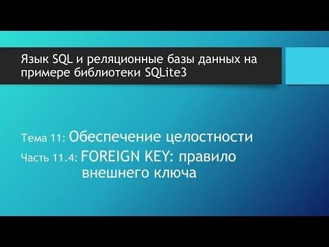 Уроки SQL. Реализация связи один ко многим в языке SQL при помощи внешних ключей. FOREIGN KEY.