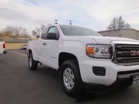 2016 Gmc Canyon Extended Cab Long Box 2 Wd New Cars Colusa Ca You