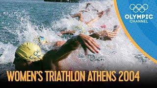 Women's Triathlon - Full Replay   Athens 2004 Replays