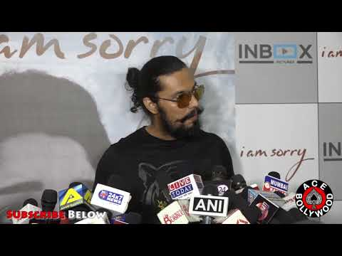 Randeep Hooda In New Look talking About Women At Launch Of Inbox Pictures I AM SORRY