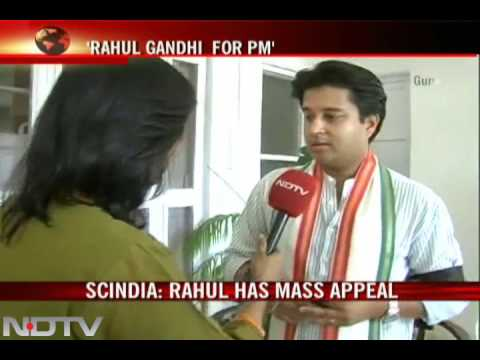 Scindia: Rahul ready to be PM