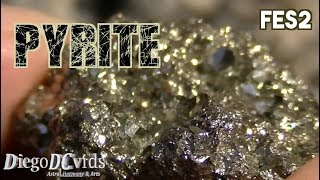 Pyrite (FeS2) Sulfide mineral - fool