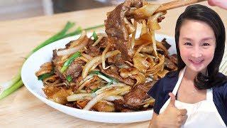 乾炒牛河的家庭做法 一學就會【美食天堂 】家常料理食譜