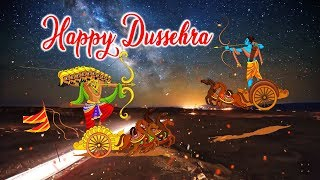 Happy Dussehra - Special Whats app status, Video Greetings, Wishes, Facebook, Ecard