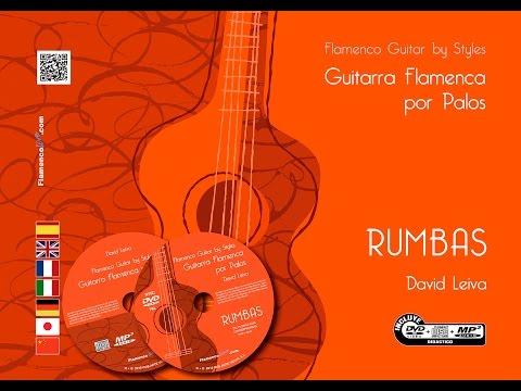 DAVID LEIVA. FLAMENCO GUITAR BY STYLES, RUMBAS. TRAILER