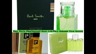 Paul Smith Men/Davidoff Good Life/Paco Rabanne Pour Homme