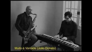 Duo sax e piano (Muito à Vontade)