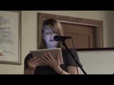 Amber Benson reading The Witches of Echo Park at 826LA 11114
