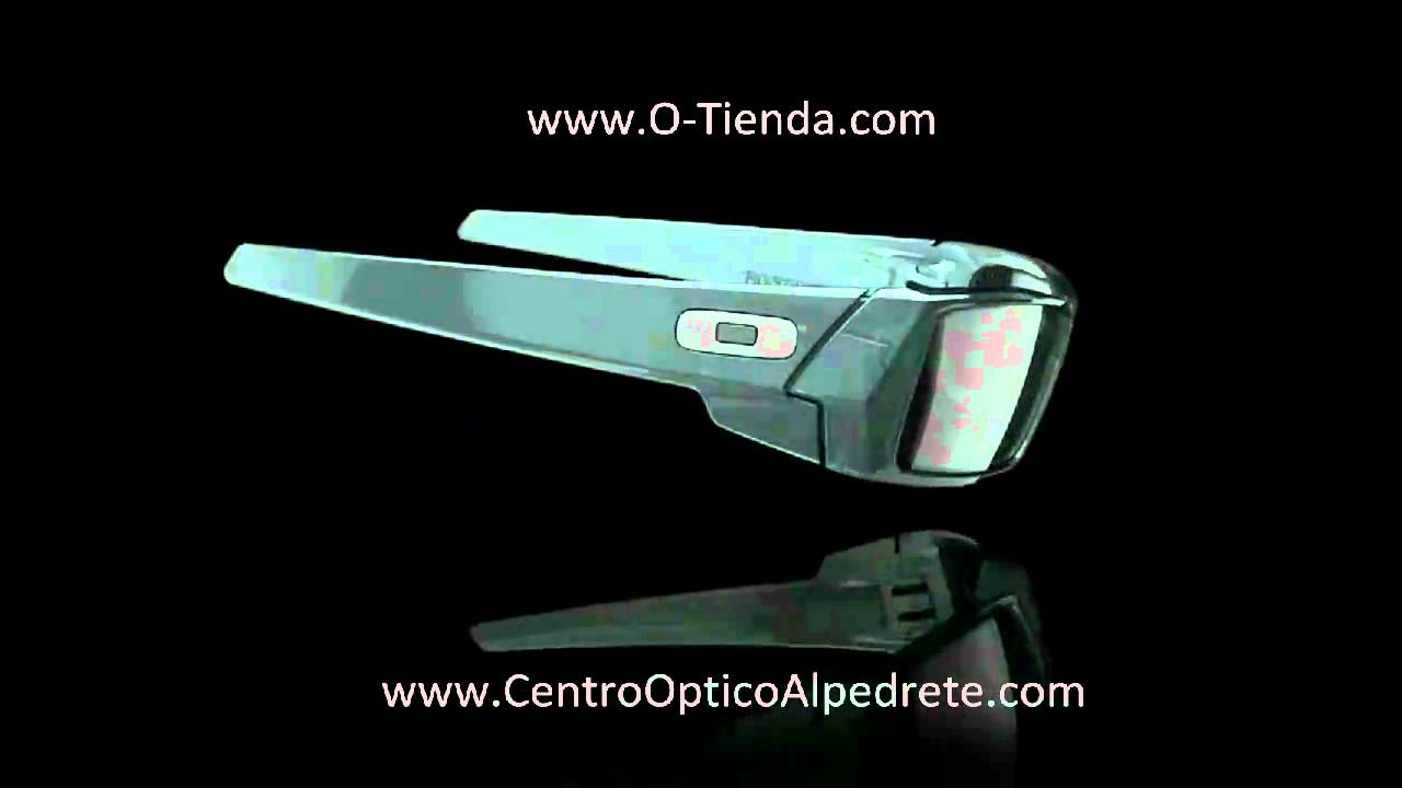 79810888305 Oakley Gascan Crystal Black Black Iridium 03 481 - YouTube