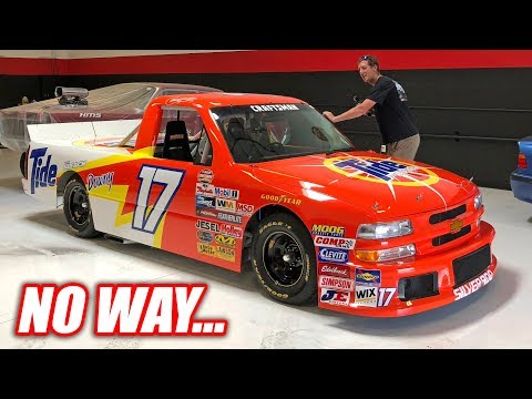 We Found Another STREET LEGAL NASCAR Truck! (IT'S SO CLEAN)