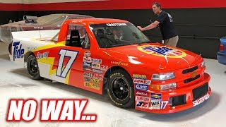 We Found Another STREET LEGAL NASCAR Truck! (IT