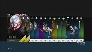 Halo 5 - Opening 33 Gold REQ Packs + Greatest Hits Packs + Classic Helmet Pack (Unlocking Every REQ)