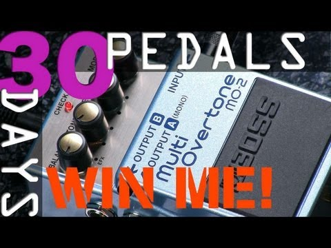 Boss MO-2 Multi-Overtone Bitesize Review - 30 Days, 30 Pedals - WIN!