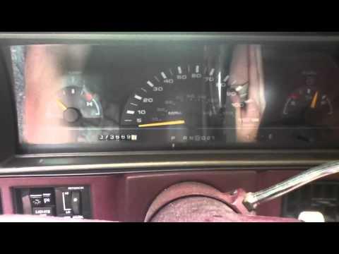 1994 Oldsmobile Cutlass Ciera S Start Up