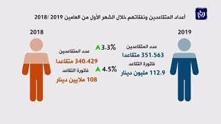 ارتفاع فاتورة التقاعد في الأردن 4.5% في اول شهر من العام الحالي - (7-4-2019)