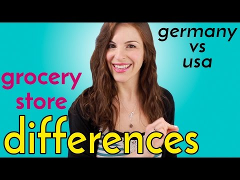 GROCERY STORES: 4 Big Differences in Germany & USA
