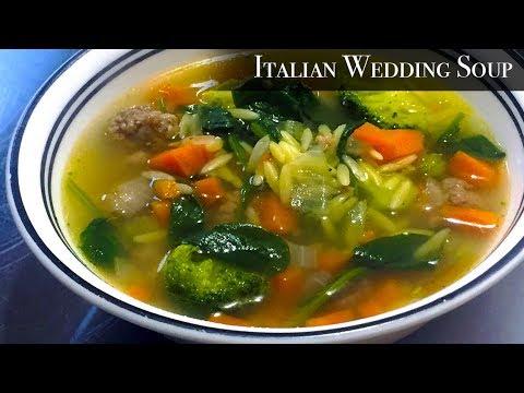 Easy Italian Wedding Soup recipe | Valentines Collaboration