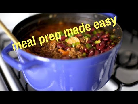 The ULTIMATE Meal Prep Hack (save time, simplify, get healthy)