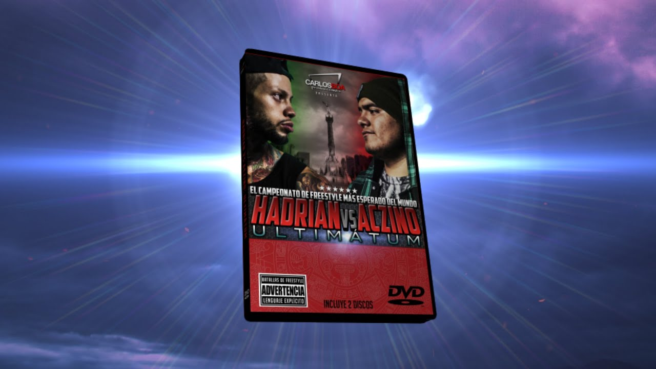 Promo DVD Hadrian VS Aczino ULTIMATUM
