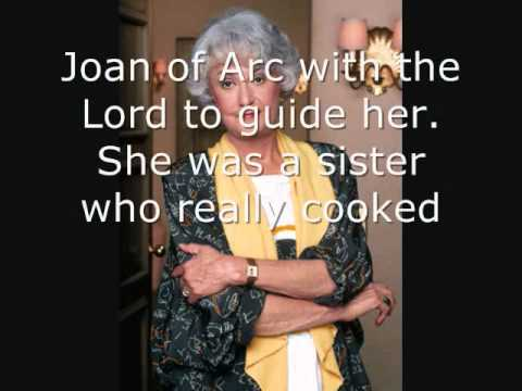 Bea Arthur Tribute (And then there's Maude With Lyrics!) ♥