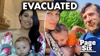 Brie, Nikki Bella and their babies had to evacuate due to California fires | Page Six Celebrity News