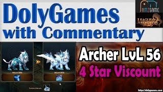 ➜ LOA Gameplay Archer Series #36: Level 56 | BR 258,819 | Viscount 4 Stars