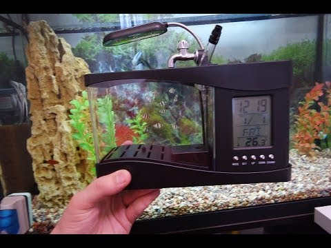 Мини аквариум usb c органайзером. Посылка с Али!