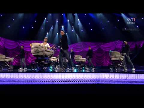 ESC 2013 FINAL - Petra Mede - Swedish Smörgåsbord