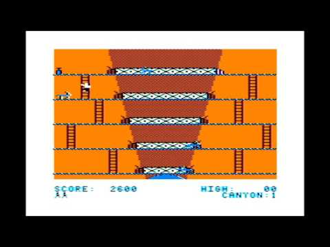 Canyon Climber for the TRS-80 CoCo