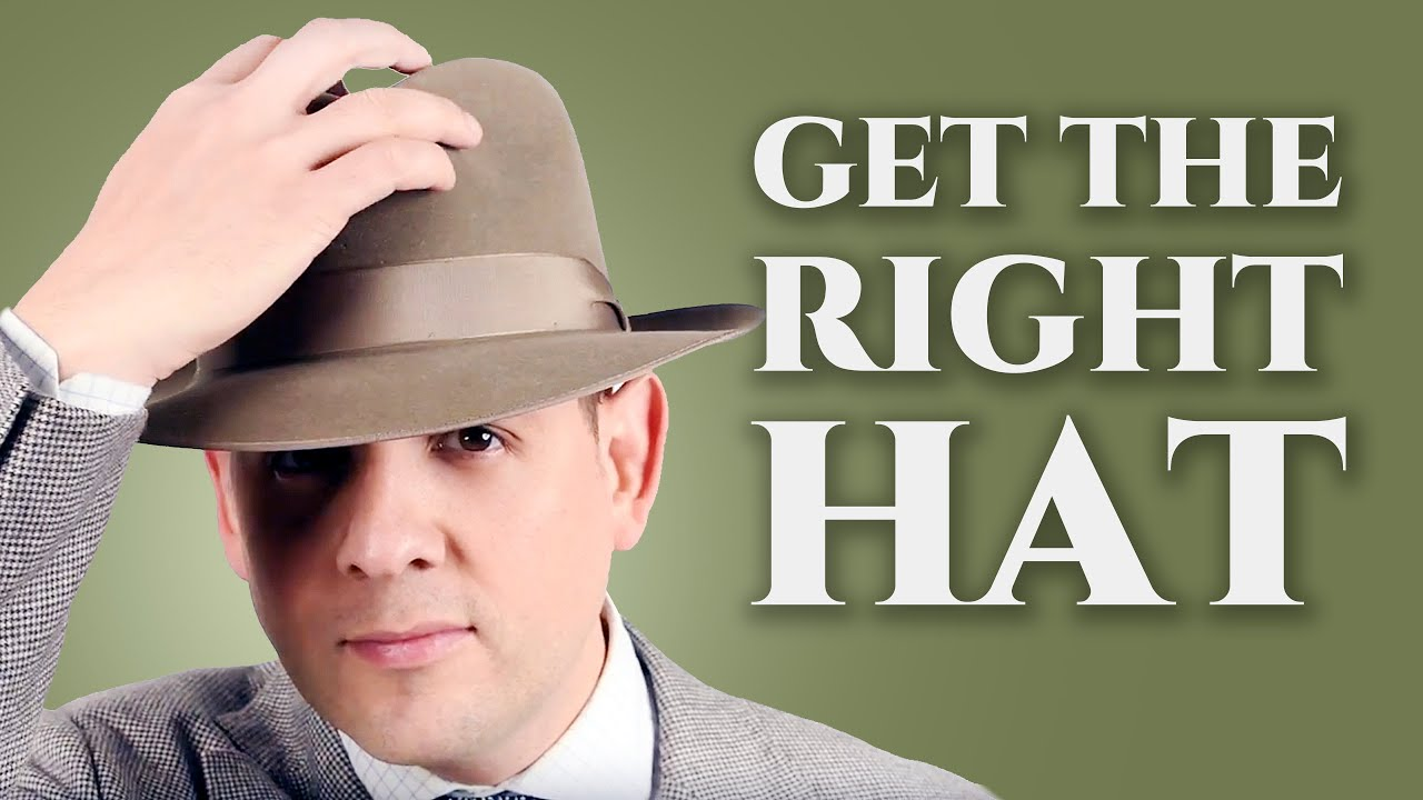 76212a38d54e0 How to Get The Right Hat for Your Face Shape   Body Type - Fedora ...