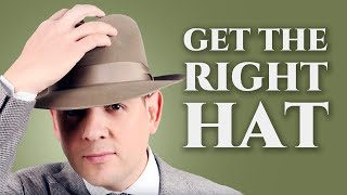 Download How to Get The Right Hat for Your Face Shape & Body Type - Fedora, Panama Hats, & Felt Hats For Men
