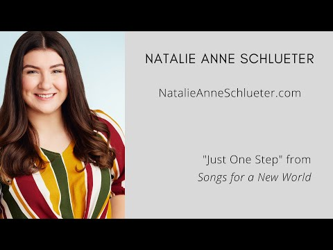 Natalie Schlueter Just One Step--Songs for a New World