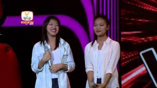 The Voice Cambodia - ធីតា និង វល័ក្ខ - Let It Go - 17 Aug 2014