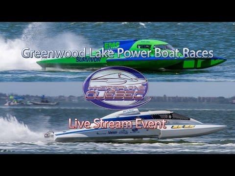 Greenwood Lake Power Boat Races Saturday - Live Stream