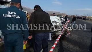 Ողբերգական ավտովթար Արարատի մարզում  բախվել են 06 ը , ГАЗель ն ու Opel ը