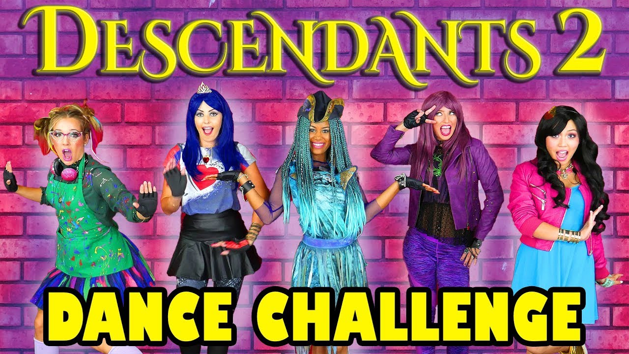 Descendants 2 Dance Challenge Uma's Dance-Off. Totally TV