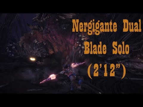 how to get nergigante dual blades