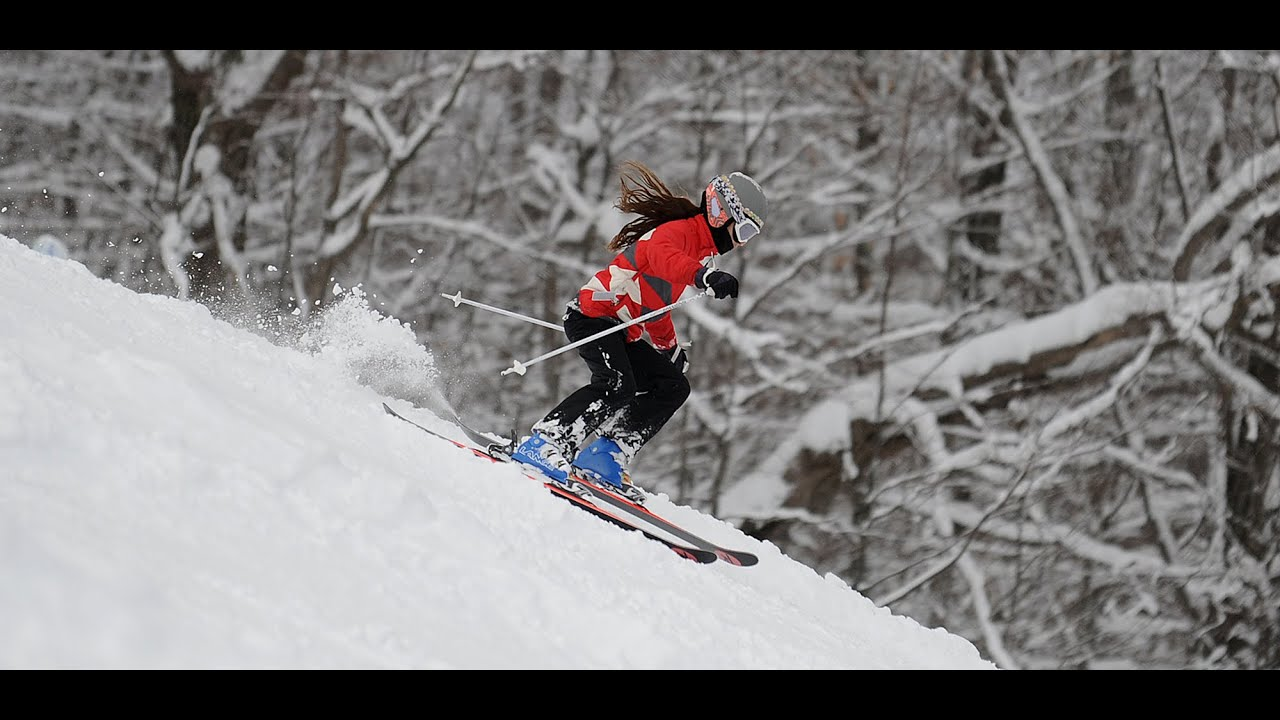 skiing snow ridge, turin, ny 2016 - youtube