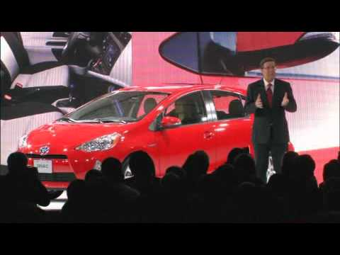 TOYOTA Press Conference - 2012 North American International Auto Show [ 2012 NAIAS ]